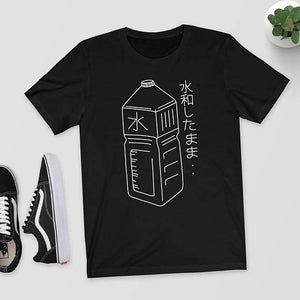 Harajuku Japanese Water Bottle T-Shirt