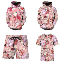 DARLING In The FRANXX Hoodies Hipster Zero Two All Over