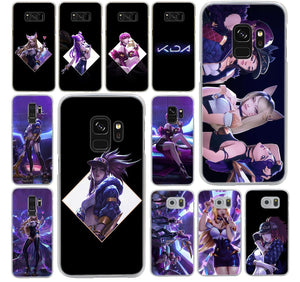 League of Legends KDA Samsung Galaxy S8 Plus S9 Plus S3 S4 S5 S6 S7 Phone Cases Section 2