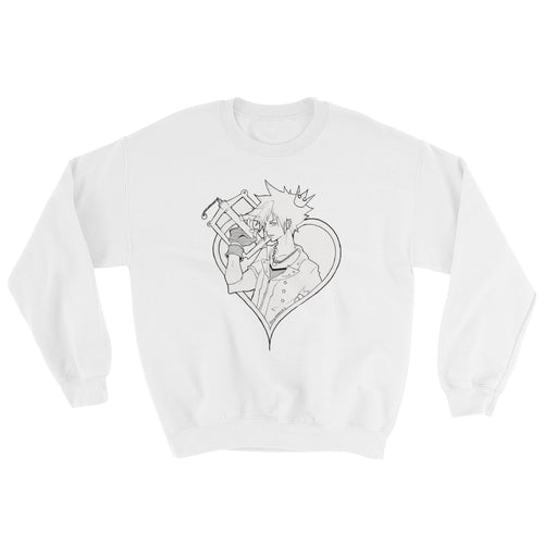 Kingdom Heart 3: Sora Crown Edition Sweatshirt Unisex