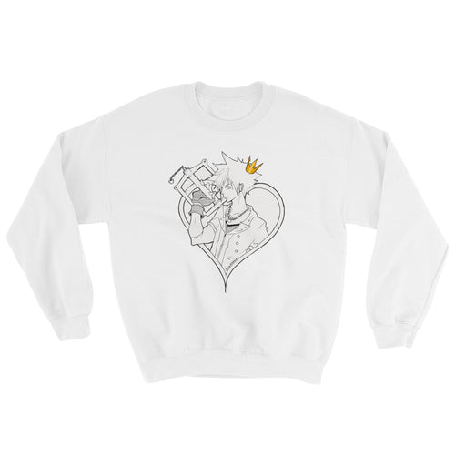 Kingdom Heart 3: Sora Coloured Crown Edition Sweatshirt Unisex