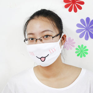 Cute Anime Half Face Mask - Kawainess