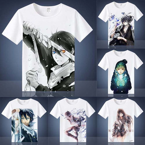 Noragami Yato Shirts Short Sleeves - Kawainess
