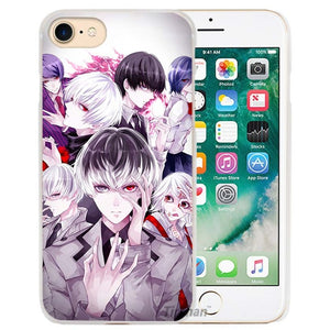 Tokyo Ghouls Hard Transparent Phone Case Covers for Iphone Batch 1 - Kawainess