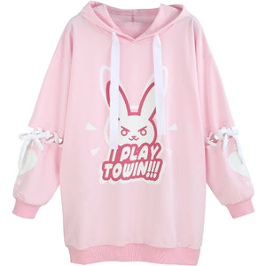 Overwatch DVA Cotton Long sleeve Top - Kawainess