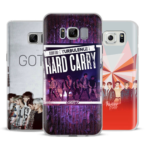GOT7  Phone Case For Samsung Galaxy S4 S5 S6 S7 Edge S8 Plus Note 8 2 3 4 5 A5 A7 J5 2016 J7 2017