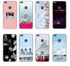 GOT7 Phone Case for Huawei Mate 10 Lite Pro G7 & Honor 9 8 Lite 7 7X 6 6A 6X 4X 4C Cover - Kawainess