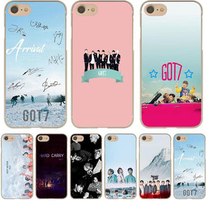 GOT7 Fly Hard Phone Case for Apple iPhone X 10 8 7 6 6s Plus 5 5S SE 5C 4 4S Cover - Kawainess