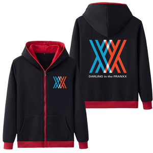 DARLING in the FRANXX Five Color Hoodies
