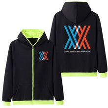 DARLING in the FRANXX Five Color Hoodies - Kawainess