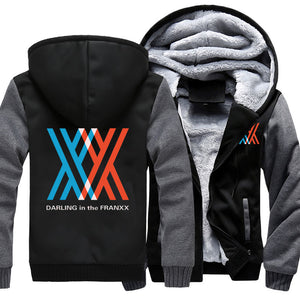 New DARLING in the FRANXX Hoodie-Darling in the FranXX-Kawainess