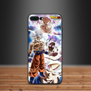 Dragonball Super ULTRA INSTINCT Apple IPhone case - 5 5s SE 6 6s 7 8 Plus X 10-dragonball-Kawainess-Goku-For iPhone 5 5S SE-Case & Strap-Kawainess