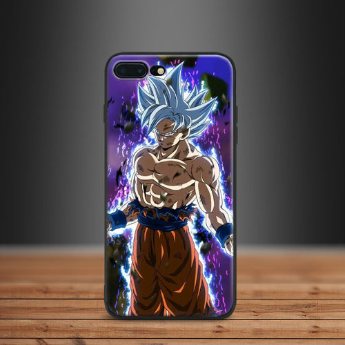 Dragon Ball Super Goku Ultra Instinct Apple IPhone 5 5s SE 6 6s 7 8 Plus X 10 - Kawainess