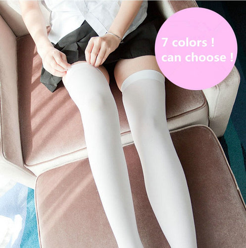 Anime Style Stockings Thigh High 7 colors - Kawainess