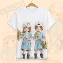 Cells at Work Erythrocite Red Blood Cell and Blood Platelet T-shirt Section 1 - Kawainess