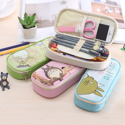 4color Creative My Neighbor Totoro Pencil Students Case