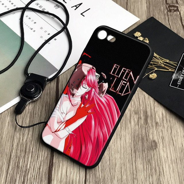 Elfen Lied Apple Phone Case - iPhone 5 5s Se 6 6s 7 8 Plus X XR XS MAX