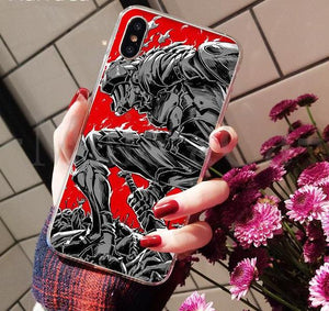 Goblin Slayer Cases for iPhone 8 7 6 6S Plus 5 5S SE XR X XS MAX Coque Shell