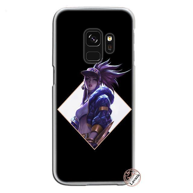 League of Legends KDA Samsung Galaxy S8 Plus S9 Plus S3 S4 S5 S6 S7 Phone Cases