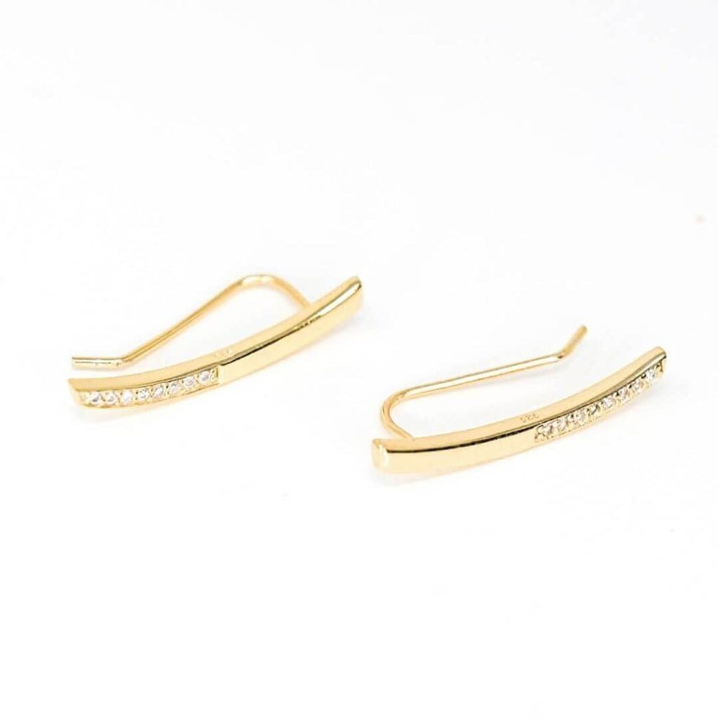 Laguna Gold Ear Climber Earrings
