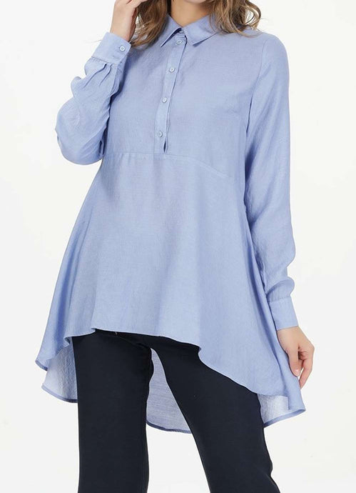 MODGREY RUFFLED SHIRT