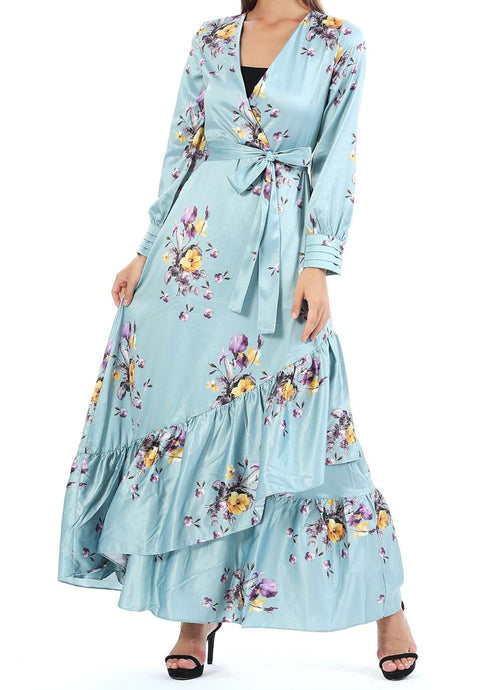 MODGREY FLOWER-PATTERN DRESS