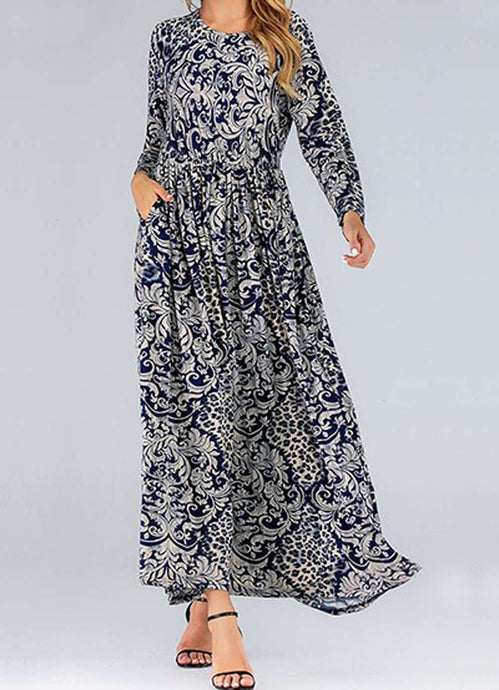 Nova Plus Size Floral Long Dress