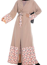 Load image into Gallery viewer, Asnat Geometric Design Sequin Abaya
