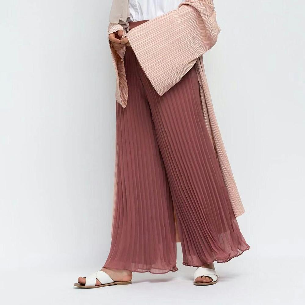 Kamilah Pleated Wide-Leg Trousers