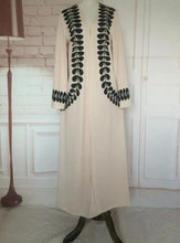Load image into Gallery viewer, Cream Amalia Open Abaya