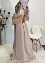 Load image into Gallery viewer, Asha Sequined Diamond Abaya