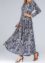 Load image into Gallery viewer, Nova Plus Size Floral Long Dress