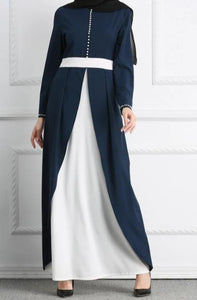 Navy Blue Senna Long Dress