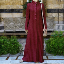 Load image into Gallery viewer, Fabiana Knitted Abaya