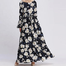 Load image into Gallery viewer, Navy Blue Alula Long Dress