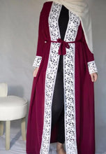 Load image into Gallery viewer, Abril Open Abaya