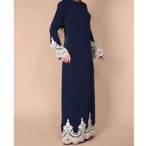Dark Blue Juana Long Dress