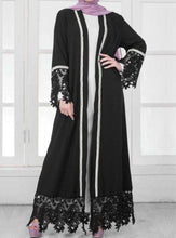 Load image into Gallery viewer, Aaleyah Beaded Open Abaya
