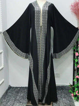 Load image into Gallery viewer, Afeen Kimono Style Open Abaya