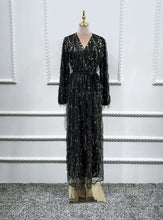 Load image into Gallery viewer, Aurora Sequined Abaya