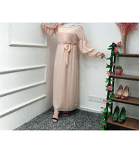 Load image into Gallery viewer, Qudwa Plus Size Long Dress-ELEVE