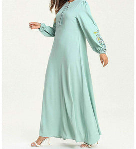 Blue Rameen Long Dress-ELEVE