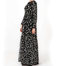 Load image into Gallery viewer, Black Salha Long Dress-ELEVE