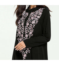Load image into Gallery viewer, Black Wordah Plus Size Long Dress-ELEVE