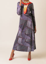 Load image into Gallery viewer, Felicity Polka Dot Wrap Dress