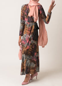 Mirage Knit Wrap Dress