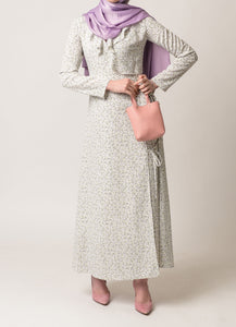 Isabelle Wrap Floral Dress