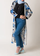 Load image into Gallery viewer, Tropical Sapphire Cardigan