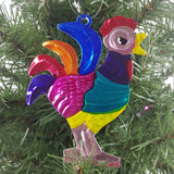 8-piece Animal Lovers Tin Holiday Ornament Set