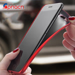 Luxury Back Matte Soft Silicon Case For iPhone